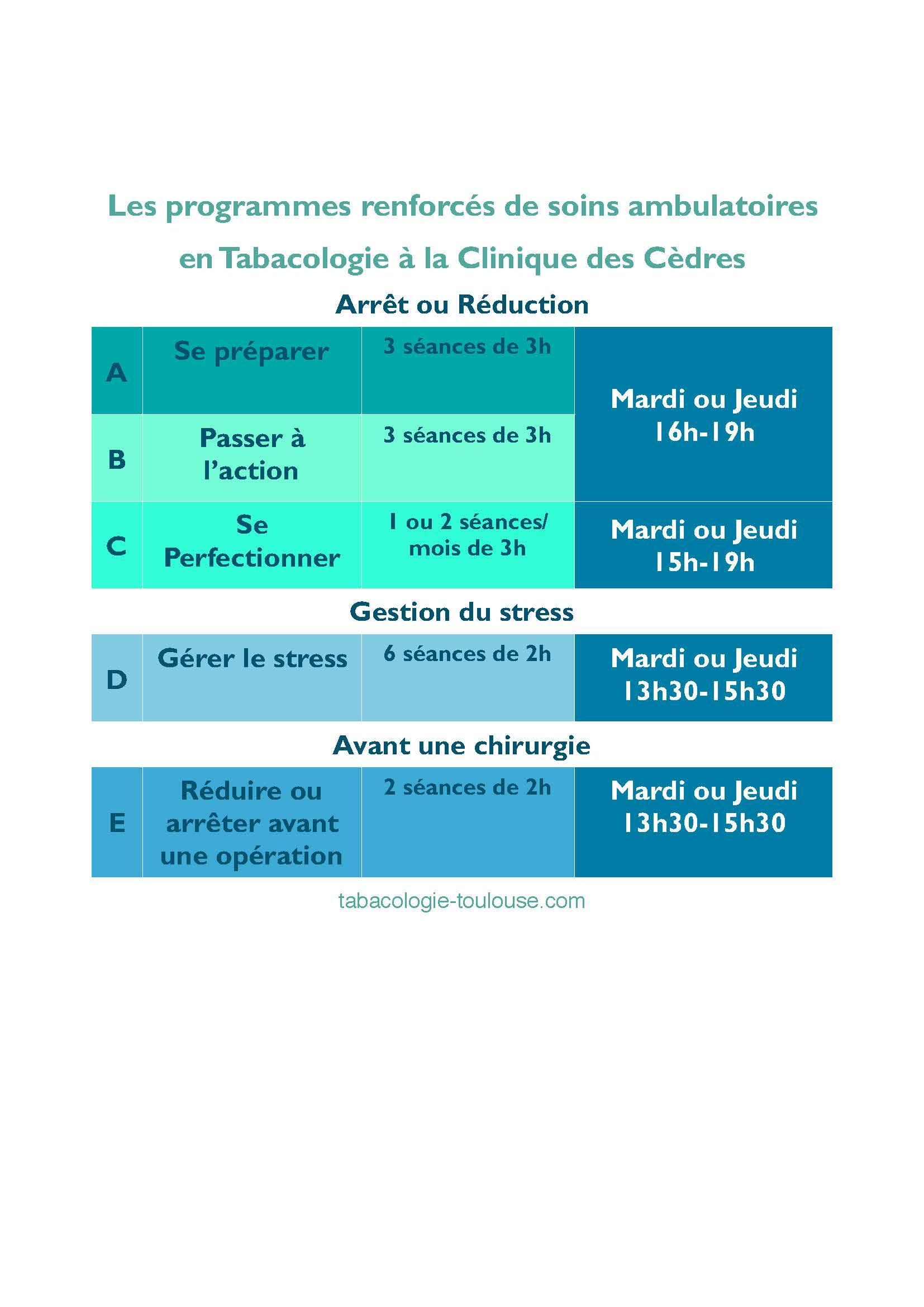 programmes HDJ